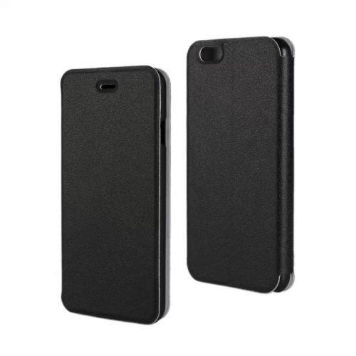 D9Q magnetische PU Leder Case Wallet decken ultra thin Skin Protector für Iphone 6 !!Schwarz