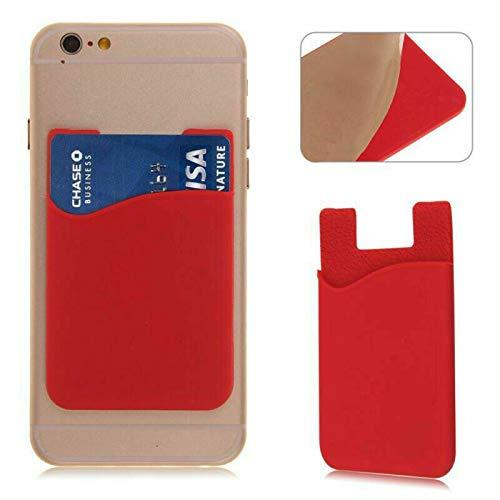 Generic N4U Online® Silikon-Kreditkartenhalter für Oppo N1 Mini