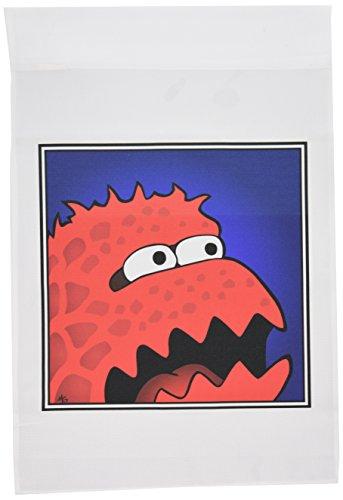 1Gesicht Monster Monster 13von Garden Flagge, 12von 18 (Halloween-farbe Durch Zugabe)