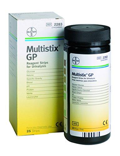 Price comparison product image Siemens Multistix GP Urine Test Sticks - Pack of 25