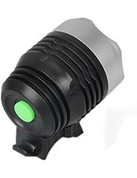 Sannysis 3000 lúmenes XML Interfaz Q5 LED Luz de Bicicleta para Bicicleta Faros delanteros Luz de bicicleta,Suniness LED Luz de bicicleta LED impermeable (Schwarz)