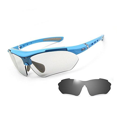 SUNGLASSES GJY Sonnenbrillen für Männer und Frauen, Profisport Radfahren leichte Sportbrillen UV400 (Color : Black)