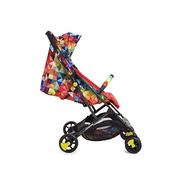 Cosatto CT4254 Woosh 2 Spectroluxe 7.2 kg Cosatto Suitable from birth to max weight of 25kg, lets your toddler use it for even longer Lightweight, sturdy aluminium frame New-born recline 4