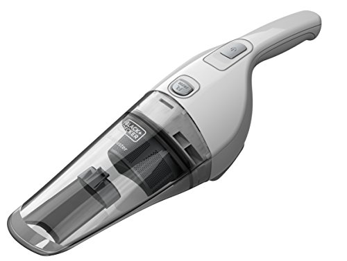BLACK+DECKER NVB215W-QW Dustbuster Aspiratore Ricaricabile, Batteria al Litio, 10.8 Wh