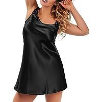 Preisvergleich für Damen Sexy Body Dessous Strapsen Reizvolle Reizwäsche Lingerie Babydoll Nachthemd Rückenfrei Spitze Negligee Babydoll...