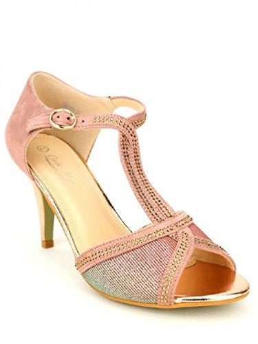 Cendriyon, Escarpin CINK ME Rose color Chaussures Femme Rose