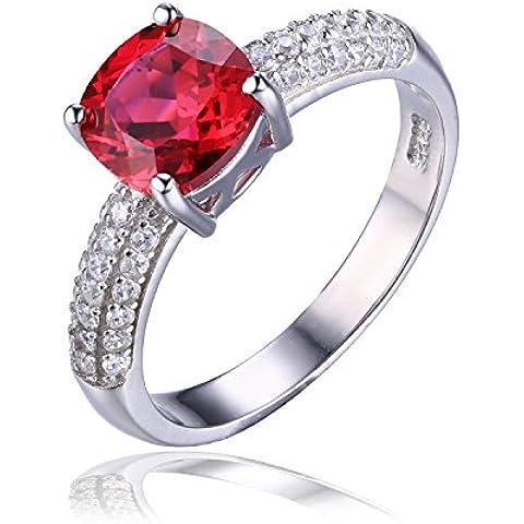 JewelryPalace Gioiello 2.6ct Creato Rosso Rubino di