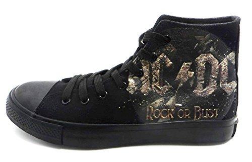 AC/DC Rock or Bust Sneaker Schwarz EU37