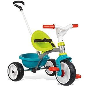 Triciclo Be move azul con volquete y ruedas silenciosas (Smoby 740326)