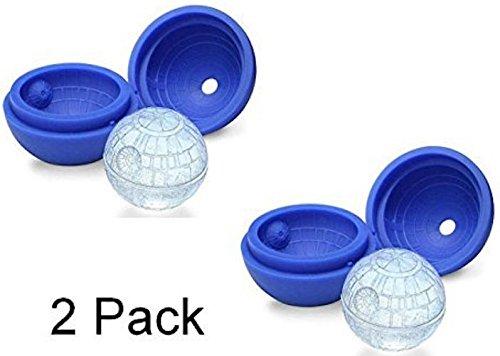 2 Silikon-Form für Eiswürfel, Schokolade, Seife, Whiskey Backen für Star Wars-Liebhaber Party oder Design (Seife Grundlagen)