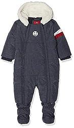 s.Oliver Junior Baby-Jungen 59.810.85.2756 Schneeanzug, Blau (Dark Blue Melange 58w8), 80