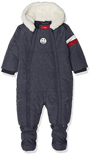 s.Oliver Junior Baby-Jungen Schneeanzug 59.810.85.2756, Blau (Dark Blue Melange 58w8), 86