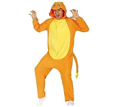 Disfraz de Dragón naranja para adultos por Guirca