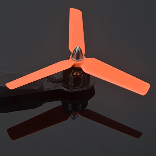 Tri-blades 5030 3D first Propeller (pack of 4 games, 8cw, 8ccw) 5 inches of 3 blades 5030x3 powerful indestructible propeller durable light balanced by xsoul