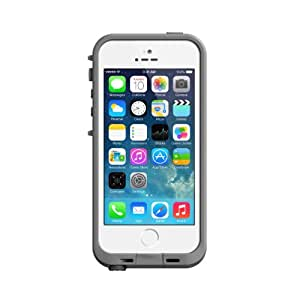 LifeProof Fré wasserdichte Schutzhülle für Apple iPhone 5/5S/SE, weiß