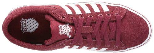 K-Swiss Adcourt LA SDE VNZ 03095-636-M Herren Sneaker Rot (Merlot/White)