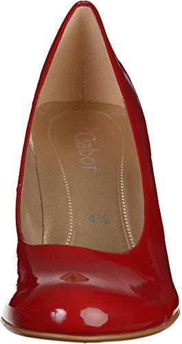 Gabor 35-210-76, Sandalo con Tacco da Donna Rosso (rouge laque)