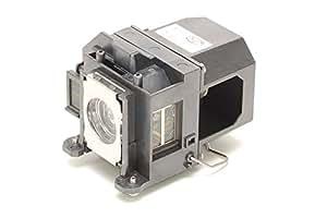 Alda PQ Premium, Lampe de projecteur pour EPSON EB-455Wi Projecteurs, Lampe avec logements