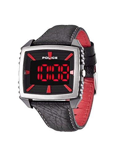Police Herren-Armbanduhr Digital Quarz Leder PL.13890JPBS/02