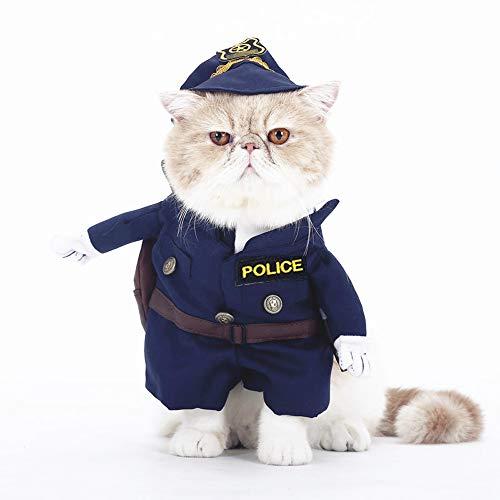 smalllee de la Suerte Store Gato Perro policía...