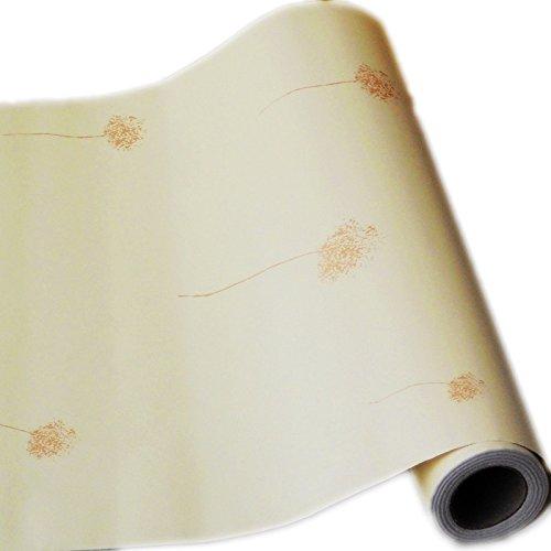 Zhzhco Selbstklebende Pvc Tapeten Tapete 0,45 * 10 M Schlafzimmer/Wohnzimmer Tv Hintergrund Tapeten,L