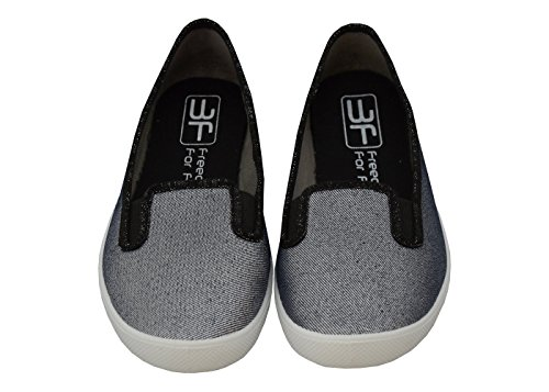 3f freedom for feet Ballerines pour femme Grau 5LB-2G/5