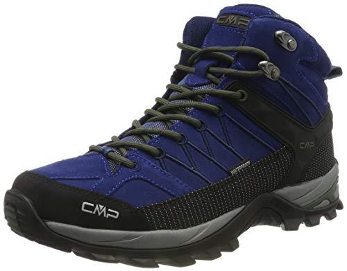 CMP Herren Rigel Mid Trekking- & Wanderstiefel, Blau (Marine-B.Blue 04md), 42 EU -