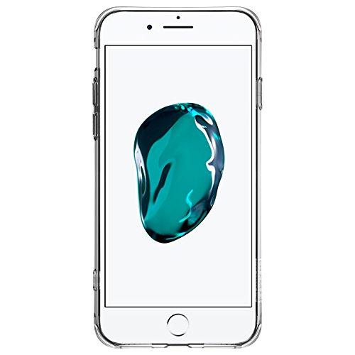Case NILLKIN pour iPhone 7 crashproof 2 fonction de support du logement Transparent