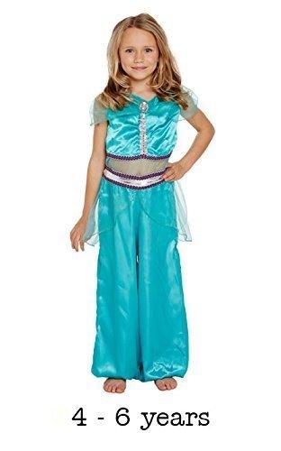 KOSTÜM KINDER ARABISCHE PRINZESSIN KLEIN 4-6 JAHRE (Kostüme Kinder Arabische)