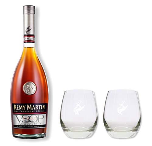 Remy Martin VSOP 40% 0,7l - Set mit 2 original Gläsern