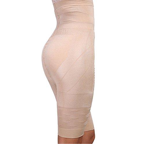 Foto de MISS MOLY Braguita Faja|Para Mujer Moldeadora Faja Reductora Adelgazante Cintura Abdomen Body ShapewearNegro/Beige