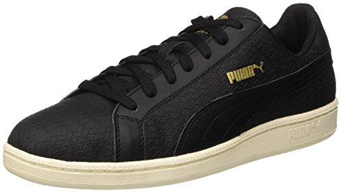 Puma Smash Woven, Sneaker Man (Gymnastics), Nero/Nero, 9.5
