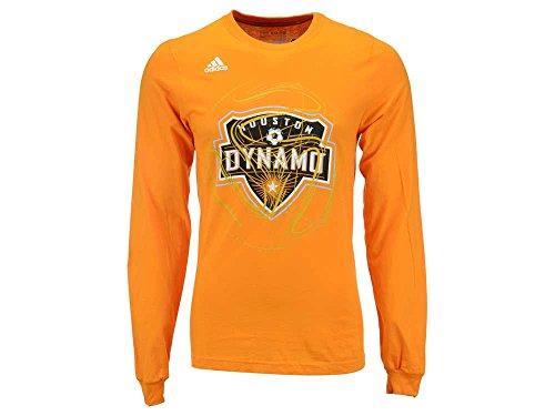 adidas Houston Dynamo MLS Prime Time II Long Sleeve T-Shirt