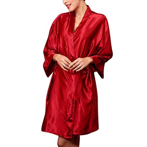 VENI MASEE - Peignoir - Femme Red