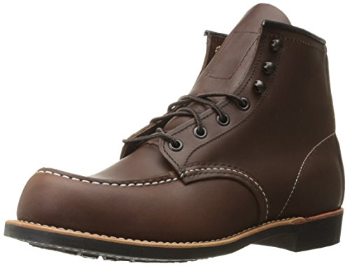 Red Wing 6-inch Moc Toe Hommes Bottes brown