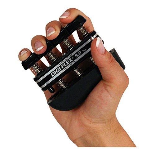 Digi-Flex Handtrainer Fingertrainer Unterarmtrainer Fingerhantel, 4,1 kg SCHWARZ - Digi-flex Handtrainer