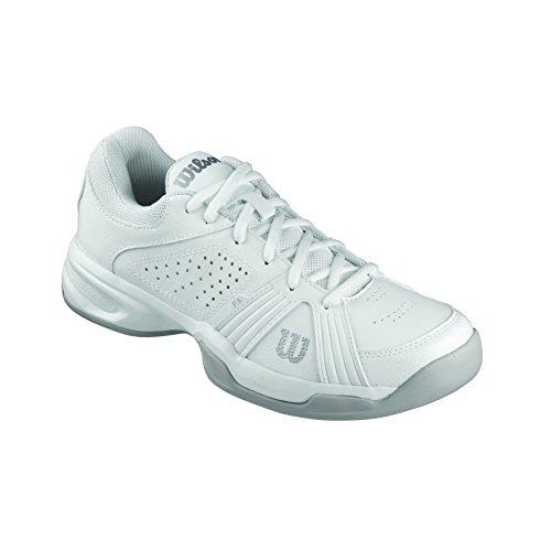 Wilson Rush Swing W, Scarpe da Tennis Donna, Multicolore (White 001A), 39 2/3 EU