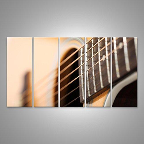 Imagen de cuadro cuadros  acústica clásica con extraña e inusual perspectiva primer plano. instrumentos musicales impresión sobre lienzo  formato grande  cuadros modernos ett