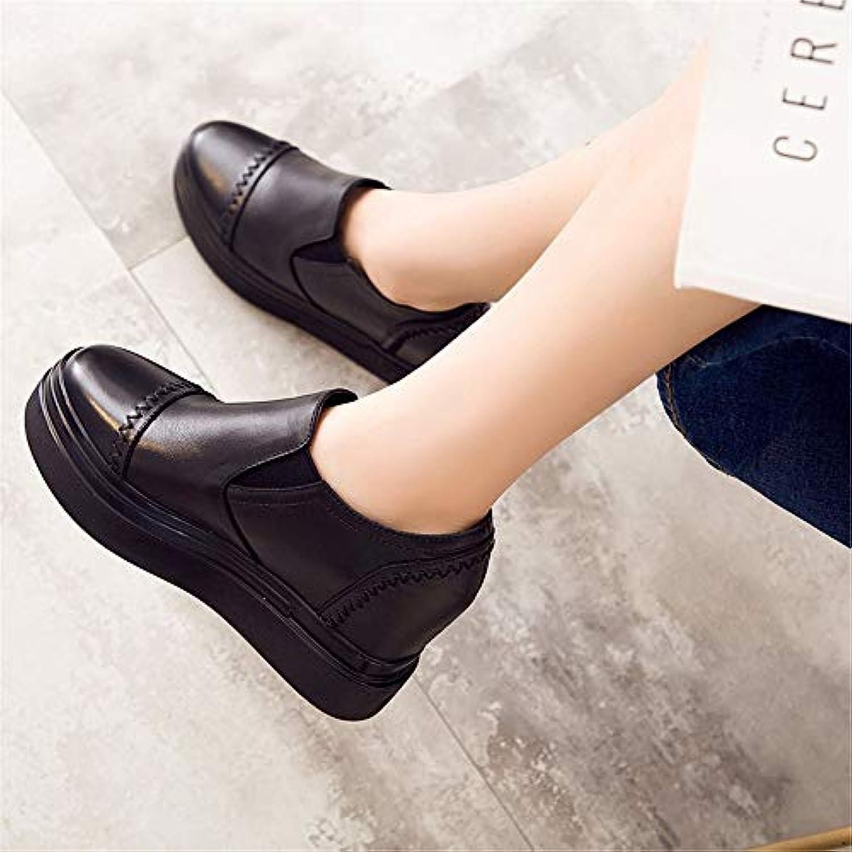 9a3135d1134b7a la haut shishangwedges des chaussures semelle épaisse couleur profonde  bouche bouche bouche occasionnel deux coins de bottes pour dames b07h4d87ls  muffins ...