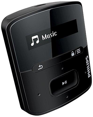 Philips GoGear RaGa 4GB MP3 Player (Black)