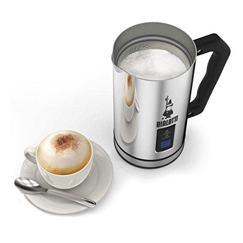 Bialetti Milk Frother, Montalatte elettrico, capacità 240 ml, Acciaio inox - 3