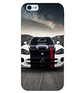 PrintDhaba CONCEPT CAR D-7029 Back Case Cover for APPLE IPHONE 6S (Multi-Coloured)
