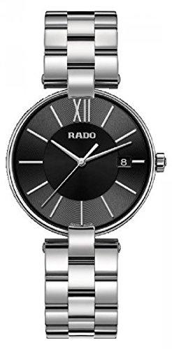 Rado Coupole New Herren-Armbanduhr Armband Edelstahl Batterie Analog R22852153