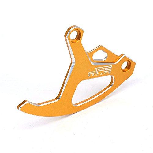 Jfg Racing CNC Frein à disque arrière Guard Housse de protection pour Suzuki Rm125 RM250 05-08 Rmz250 07-17 Rmz450 05-17 Rmx450z 10-15 Drz400sm 00-16