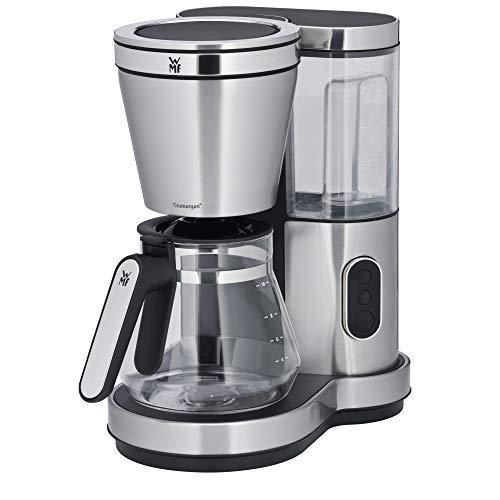 WMF Lono Aroma Kaffeemaschine, mit Glaskanne, Filterkaffee, 10 Tassen, Timer-Funktion, Schwenkfilter, Warmhalteplatte, abnehmbarer Wassertank, Abschaltautomatik, 1000 W