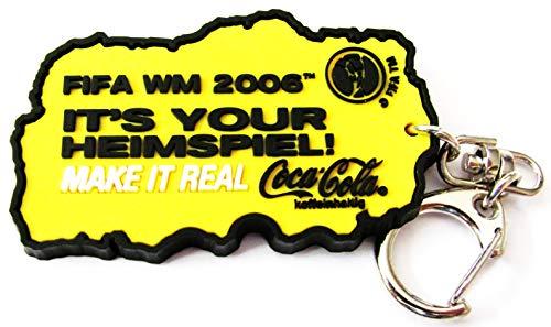 Coca Cola - FIFA WM 2006 - It´s Your Heimspiel - Schlüsselanhänger - Flaschenöffner Cola Coca Schlüsselanhänger