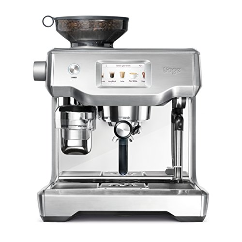 DIS Appliances Machine expresso, acier inoxydable brossé