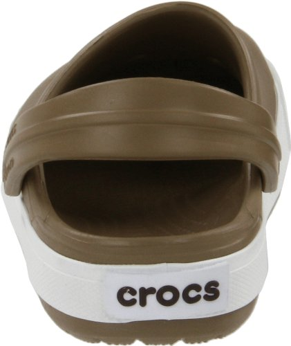 Crocs Crocband II Kids, Sabots Homme Verde (Khaki/Espresso)