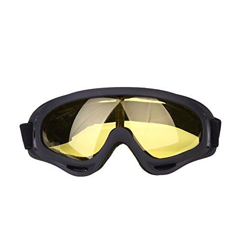 Jiayuane Anti Fog Staub Wind UV Ski Schnee Snowboard Brille Helm Ski Sonnenbrille Brille Praktische Sportartikel