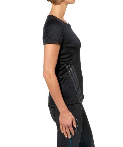 Adidas t-shirt à manches courtes pour femme supernova Noir - noir